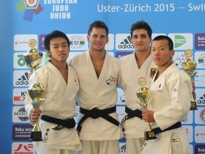 Podium au Swiss Judo Open 2015